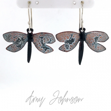 Black and Grey Dragonfly
