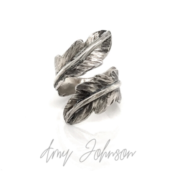 Feather Adjustable Ring