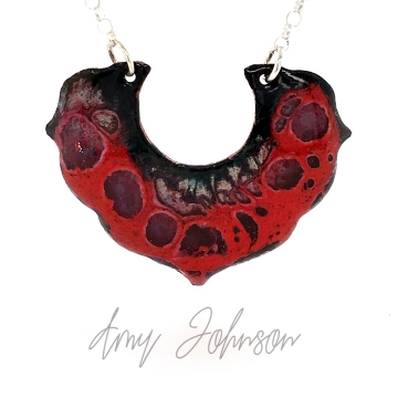 Flame Red Necklace