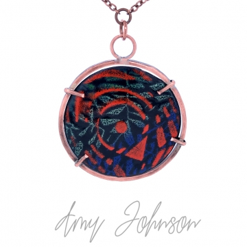 Reversible Patterned Necklace